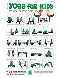 Yoga for Kids – grab a friend for these partner poses! For more information about Yoga for Kids visit: www.edu/… or contact Lisa Washbu… – Yoga Partner Yoga Poses, Kids Yoga Poses, Easy Yoga Poses, Kid Poses, Yoga For Kids, Ashtanga Yoga, Vinyasa Yoga, Yoga Inspiration, Childrens Yoga