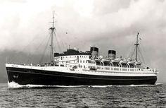 "Union Steam Ship Co - TSS Awatea - ""The fastest ship in the Antipodes"" Merchant Navy, Merchant Marine, Sailing Ships, New Zealand, Ocean, Boat, Shipping Company, Cruise Ships, Kiwi"