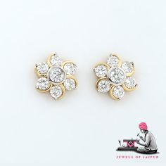 Jewellery That Matches Your Glow Diamondjewellery Handcrafted Diamondearrings Earrings