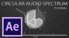 After Effects: Circular Audio Spectrum Tutorial
