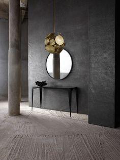 Nova Ceiling Pendant, Runes Mirror, Equinox Console Table | Porta Romana