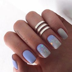 Want some ideas for wedding nail polish designs? This article is a collection of our favorite nail polish designs for your special day. Bridal Nails Designs, Short Nail Designs, Gelish Nails, My Nails, Trendy Nails, Cute Nails, Wedding Nail Polish, Nails For Kids, Pin On
