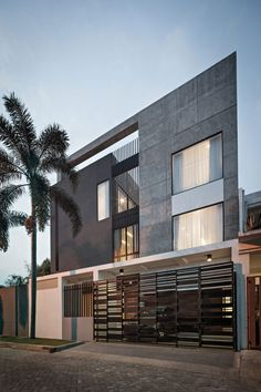 DP+HS Architects Design a Private Residence in Jakarta, Indonesia