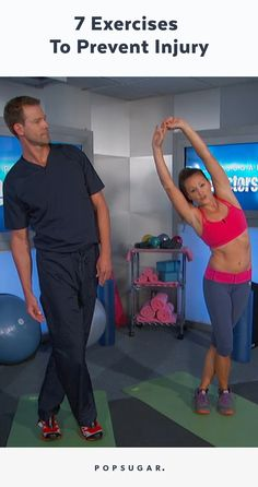 Anna Renderer Fitness shows The Doctors 7 exercises that are key to preventing…