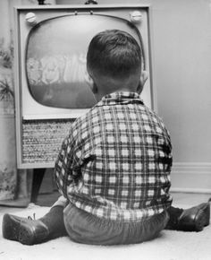 The 50's... I wonder how many kids were told to move back from the TV!