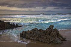 Doninos Beach Ferrol Galicia Spain