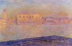 Claude Monet The Doges' Palace Seen From San Giorgio Maggiore oil painting reproductions for sale