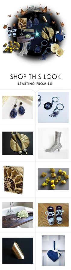 """Stars to Heaven"" by anna-recycle ❤ liked on Polyvore featuring BMW, modern, rustic and vintage"