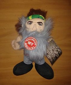A&E Duck Dynasty Phil Robertson Squeeze My Belly Talking Plush Doll Toy NWT #AE