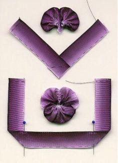 Training Ribbon embroidery, se