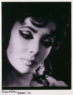 Elizabeth Taylor By Angus McBean (1966):