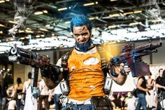 Salvador Borderlands 2 Cosplay