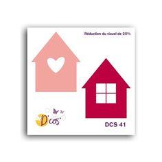 Die / Matrice de découpe D'co 'Toga' Petite maison - La Fourmi creative