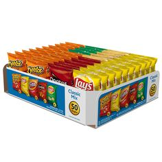Frito-Lay Classic Mix Variety Pack, 50 Count ** Amazing product just a click away  : Fresh Groceries