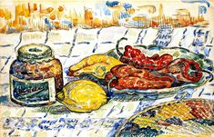The Athenaeum - Still LIfe with Peppers (Paul Signac - )