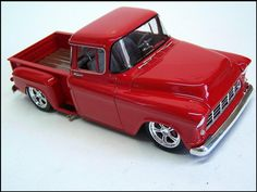 ´55 Chevy Stepside pick - AMT