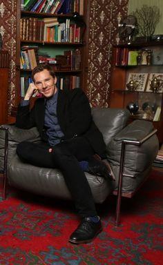 (April ~ Benedict Cumberbatch at his Q&A session at the Sherlock convention in London. Sherlock Bbc, Benedict Sherlock, Benedict Cumberbatch Sherlock, Watson Sherlock, Sherlock Quotes, Martin Freeman, Benedict And Martin, John Martin, The Imitation Game