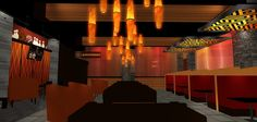 Bar and Lounge Design | 3D Design Rendering | Casino Bar and Lounge | Custom Lounge Design by I-5 Design & Manufacture