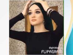 لفة حجاب للمناسبات روعة - YouTube