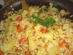 Fried Pineapple Rice (Vegan)