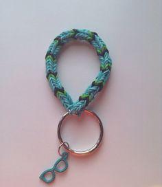 CutiePie Bracelets by CutiePieBracelet on Etsy Rainbow Loom Keychain, Rainbow Loom Charms, Loom Bands, Rubber Bands, Keychains, Peach, Unique Jewelry, Bracelets, Handmade Gifts