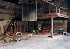 Vivre dans une usine | MilK decoration