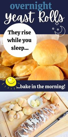 Have homemade buns ready to bake first thing in the morning with this delicious sweet yeast roll recipe. Turn it into dinner buns, cinnamon rolls, sandwich buns, or a braided loaf.