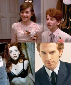 Alyson Hannigan and Seth Green Ahhhhh what is this from?? Look at tiny oz!