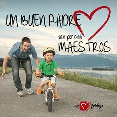 El padre es el primer amor de una hija y el primer héroe de un hijo ¡Feliz día a todos los Papás del Mundo! #DíadelPadre