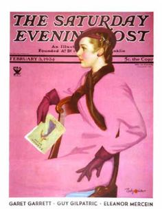 Saturday Evening Post - 1934-02-03: At the Fashion Show (Penrhyn Stanlaws)