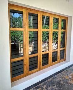 Natural Teak Wood Windows online India from Indian vendors at RollingLogs. Teak Wood Windows are best offering for external beauty and protection.These come in regular and des Indian Window Design, Wooden Window Design, Door And Window Design, Window Grill Design, Wooden Windows, Metal Windows, House Windows, Windows And Doors, Modern Wooden Doors