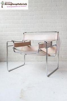 Een prachtige Wassily Chair in lever kleur. #kringloopfabriek