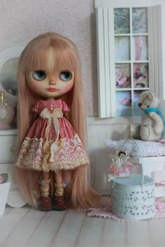 Vintage Couture  For Blythe Doll by CutieStorecom on Etsy