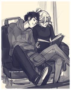 Percy Jackson & The Olympians Books Fan Art: *Percabeth* Percy Jackson Fan Art, Percy Jackson Fandom, Logan Lerman Percy Jackson, Percy Jackson Couples, Viria Percy Jackson, Percy Jackson Comics, Percy Jackson Drawings, Percy Jackson Ships, Anime Couples