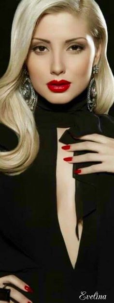 Lipstick and nails♡♡♡♡♡