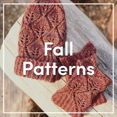 Beautiful fall knitt