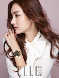 Han Chae Young Models Chic Watches In Elle Korean Actresses, Asian Actors, Korean Actors, Korean Entertainment, Boys Over Flowers, Young Models, Glam Rock, Model Photos, Girls Generation