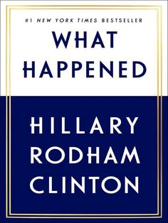 For the first time, Hillary Rodham Clinton reveals what she was thinking and feeling during one of the most controversial and unpredictable presidential elections in history. Now free from the constraints of running, Hillary takes you inside the intense personal experience of becoming the first woman nominated for president by a major party.