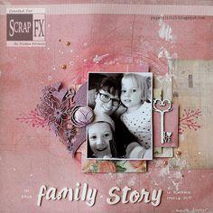 Family Story by Riikka Kovasin for Scrap FX