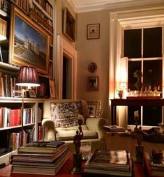 Library Room, Dream Library, Bookcase Shelves, Bookcase Styling, Home  Libraries, Reading