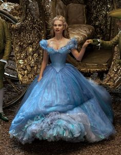 Cinderella 2015 dreses | Lily's comments on actually wearing everything reads like what I've ...