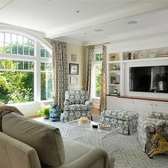 TV Built Ins, Traditional, living room, Kate Coughlin Interiors