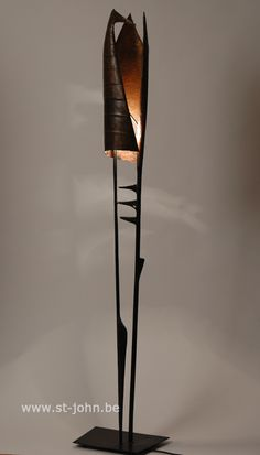 Walter de Buck, floor lamp, 1970s.