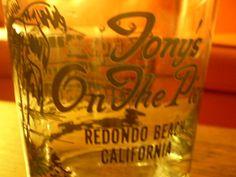 Tony's on The Pier Redondo Beach ....replacing some broken glasses...:)