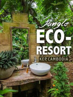 Jasmine Valley Eco-Resort, Kep, Cambodia The Blonde Abroad Laos, Phnom Penh, Battambang, Vietnam, Cambodia Travel, Destinations, Sustainable Tourism, Angkor Wat, Spa Water