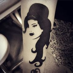 Amy Winehouse | 47 Amazing, Horrifying, And Bizarre Tattoos Of Celebrities