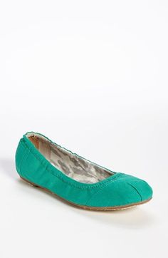 TOMS Linen Ballet Flat available at #Nordstrom