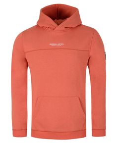 d897706caa4f15 The Marshall Artist over the head Siren Hoodie features a crossover hood,  raised rubber Marshall