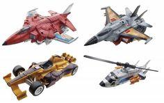 #transformer generations - combiner wars 2015 - deluxe class series 1 - set of 4