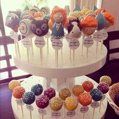 Brave Cake Pops Display